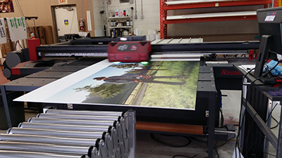 Rastek H652 Flatbed Printer